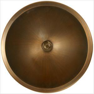 Bronze Large Round Smooth Product Image