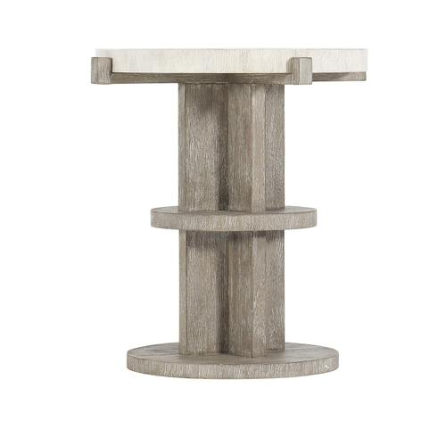 Gallery - Foundations Accent Table in Linen (306)