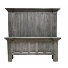 See Details - Charcoal Gray Queen Coliseo Bed