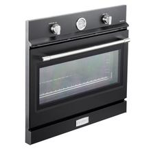 "Verona 30"" Gas Built-In Oven Matte Black"