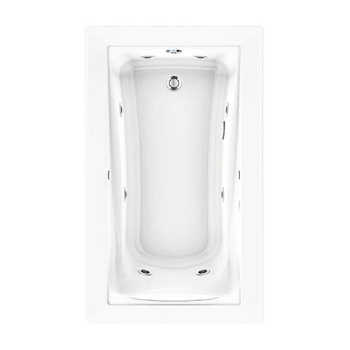 American Standard - Green Tea 60x36 inch EcoSilent Whirlpool - Arctic White