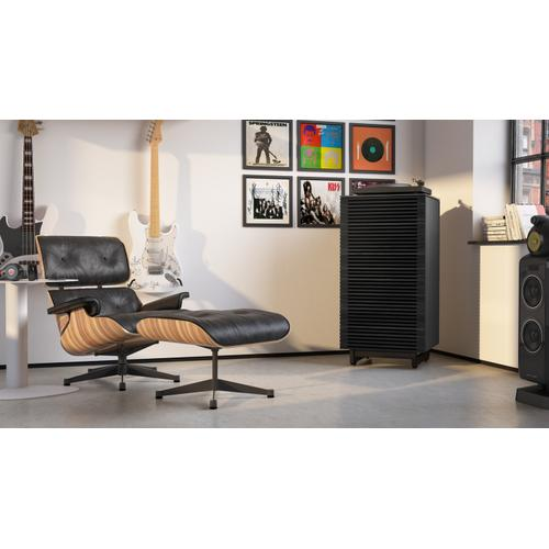BDI Furniture - Corridor 8172 Audio Tower in Charcoal Stained Ash