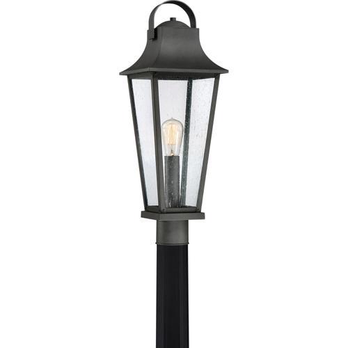 Quoizel - Galveston Outdoor Lantern in Mottled Black