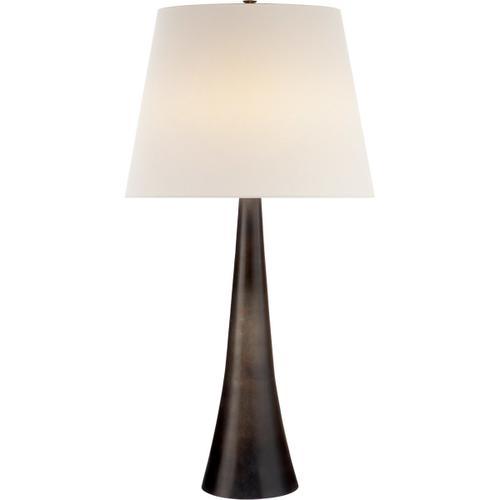 AERIN Dover 35 inch 150 watt Aged Iron Table Lamp Portable Light