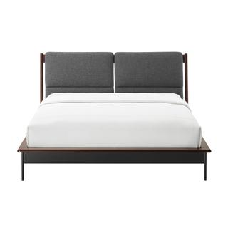 See Details - Park Avenue Queen Platform Bed with Fabric, Ruby