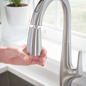 Avery Selectronic Hands-Free Pull-Down Kitchen Faucet  American Standard - Stainless Steel