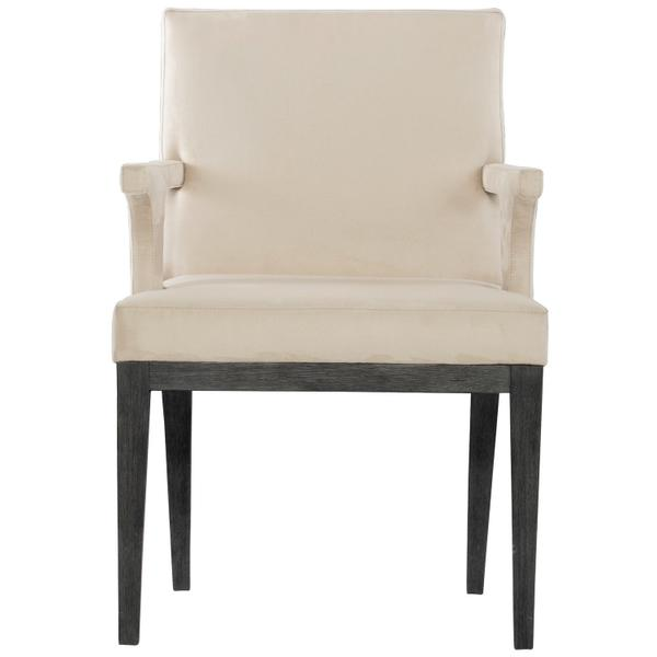 Staley Arm Chair in Midnight Black
