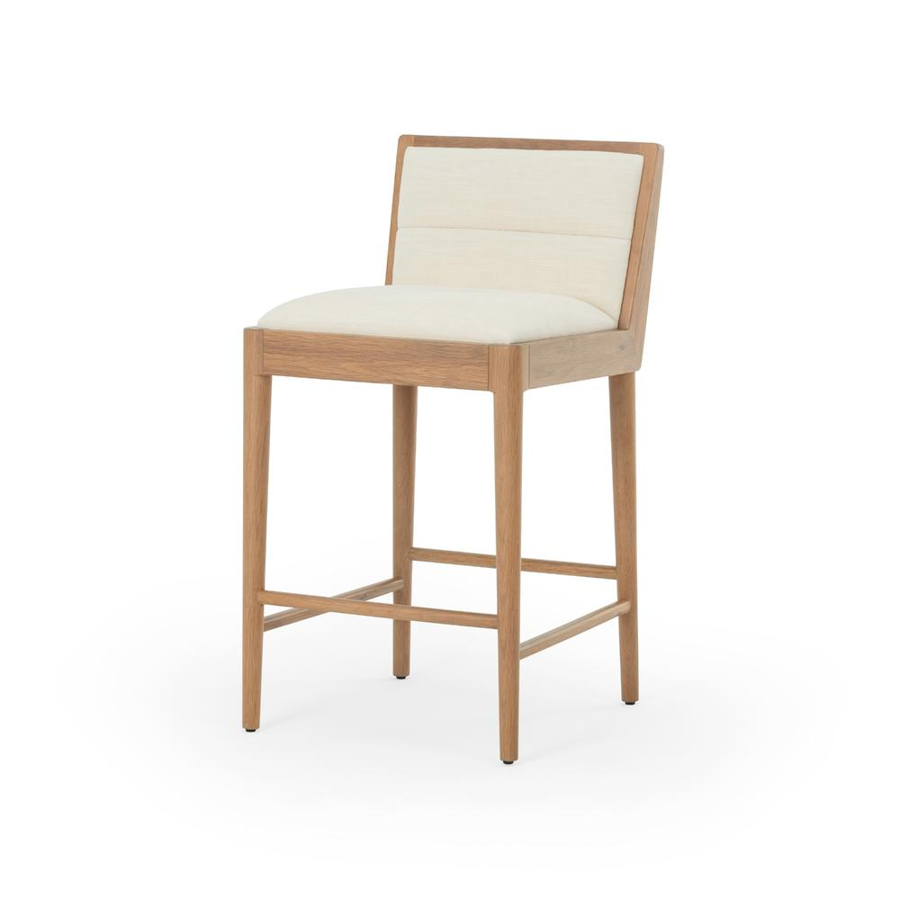 See Details - Counter Stool Size Eller Cream Cover Flore Bar + Counter Stool