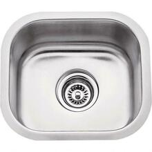 "See Details - 13"" L x 14-1/2"" W x 7"" D Undermount 18 Gauge Stainless Steel Single Bowl Sink"