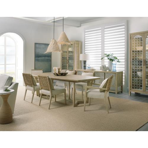 Hooker Furniture - Surfrider Woven Back Arm Chair-2 per ctn/price ea
