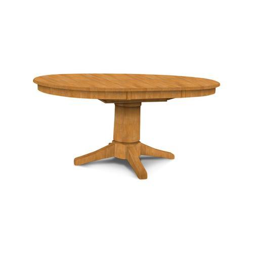 Butterfly Leaf Pedestal Table (top only) / 10'' Transitional Pedestal