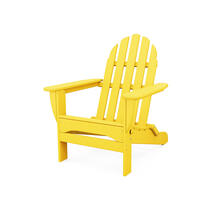 Lemon Classic Folding Adirondack Chair