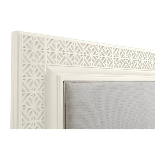 Latitude Panel Bed - Saltbox White / King
