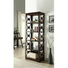 ACME Madge Bookcase - 92259 - Espresso