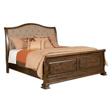 Portolone Queen Sleigh Bed - Complete