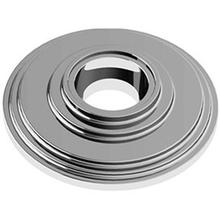 "Chrome Plate Concealed fix rose, 2 1/2"" diameter"
