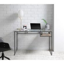 di, grey office desk