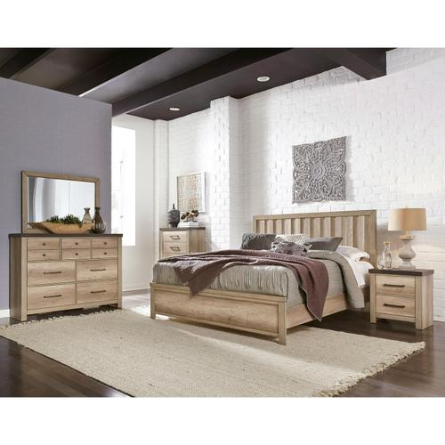 Barnwood Queen / King Panel Bed Side Rails