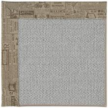 "Inspire-Silver The Daily Vintage - Rectangle - 18"" x 18"""