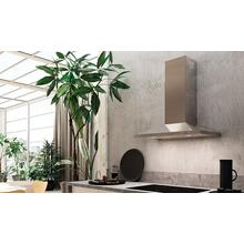 """See Details - 30"""" pyramid shape wall hood with Variable Air Management"""