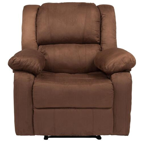 Chocolate Brown Microfiber Recliner