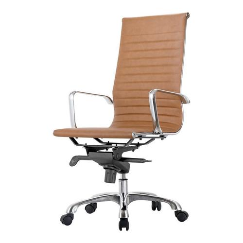 Moe's Home Collection - Omega Swivel Office Chair High Back Tan