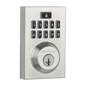 914 SmartCode Contemporary Electronic Deadbolt with Z-Wave Technology - Satin Nickel