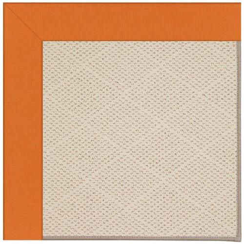 Capel Rugs - Creative Concepts-White Wicker Canvas Tangerine - Rectangle - 3' x 5'