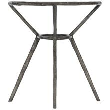 Lambeth Metal Oval End Table
