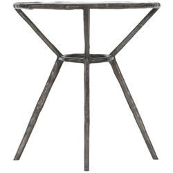 Lambeth Metal Oval End Table