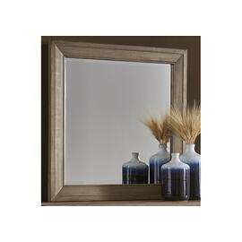 See Details - Landscape Mirror with Beveled Glass