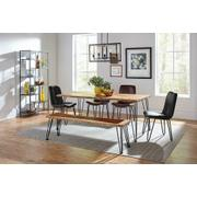 Industrial Natural Acacia Dining Bench Product Image