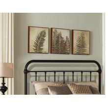 Kirkland King Headboard - Dark Bronze