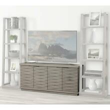 PURE MODERN 63 in. Angled Door TV Console