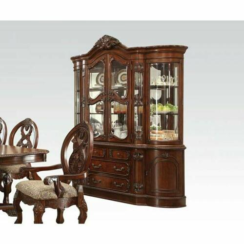 ACME Rovledo Hutch & Buffet - 60804 - Cherry
