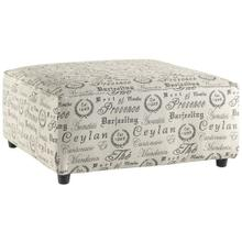 Signature Design by Ashley Alenya Oversized Accent Ottoman in Quartz Microfiber