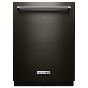 KitchenAid46 DBA Dishwasher with Third Level Rack and PrintShield Finish Black Stainless Steel with PrintShield™ Finish