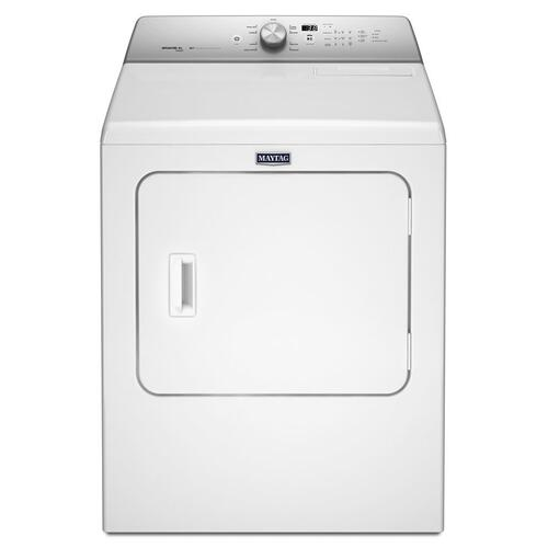 Maytag - 7.0 cu. ft. Dryer with Steam-Enhanced Cycles