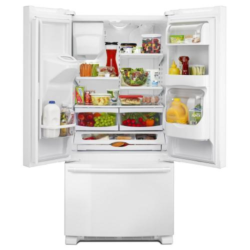 Maytag Canada - 33- Inch Wide French Door Refrigerator with Beverage Chiller™ Compartment - 22 Cu. Ft.