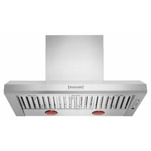 48'' 585 or 1170 CFM Motor Class Commercial-Style Wall-Mount Canopy Range Hood - Stainless Steel Product Image
