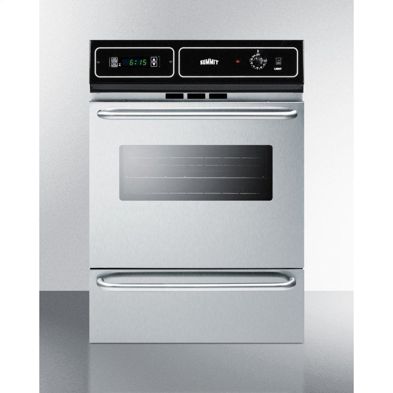 """24"""" Wide Electric Wall Oven"""