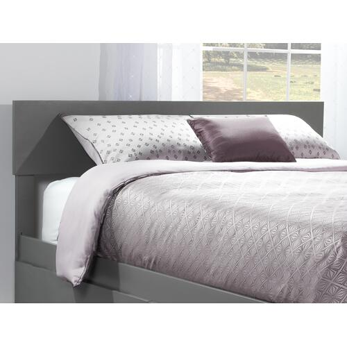 Orlando Headboard Queen Atlantic Grey