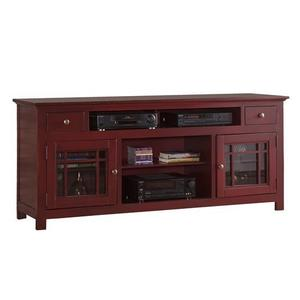 """74\"""" Console - Red Finish"""
