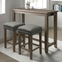 See Details - Caerleon 3 Pc. Counter Ht. Dining Set