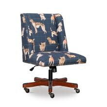 Draper Dog Daze Office Chair Navy