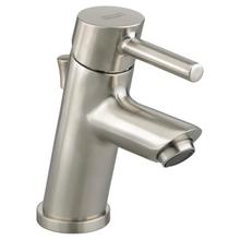Serin Petite 1-Handle Monoblock Bathroom Faucet - Brushed Nickel