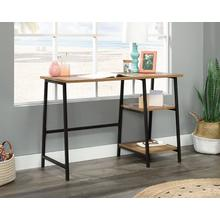 Industrial Home Office Desk with Shelves