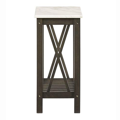 Chairside Table - Umber Finish