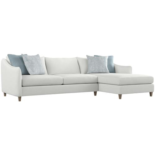 Joli Sectional in Aged Gray (788)