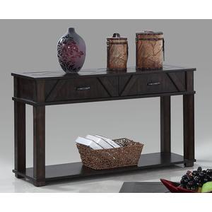 Sofa/Console Table - Dark Pine Finish